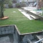 憧れの芝生の庭