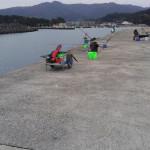 会社の釣り好き(ホウワフィッシングクラブ)メンバーと湯浅へ