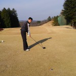 初打ちに伊賀ゴルフコースへ