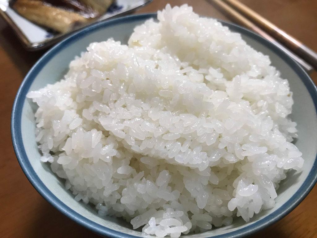 お試しで中米、小米、屑米を炊いて食べてみました