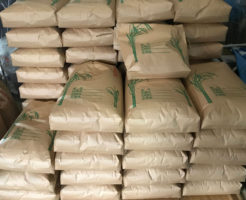 籾の乾燥とうす引き