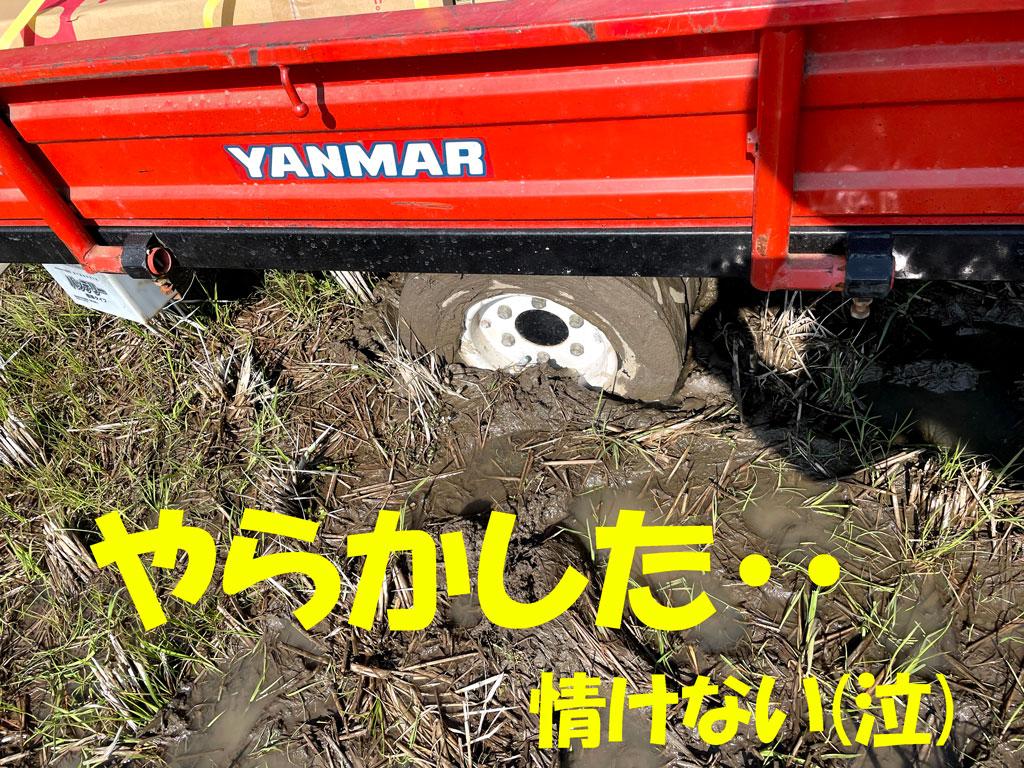 田んぼの整備 | あぜ板の入れ替え